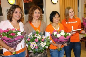 De vier Chess Queens
