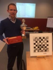 Aart Baas wint Kempertoernooi