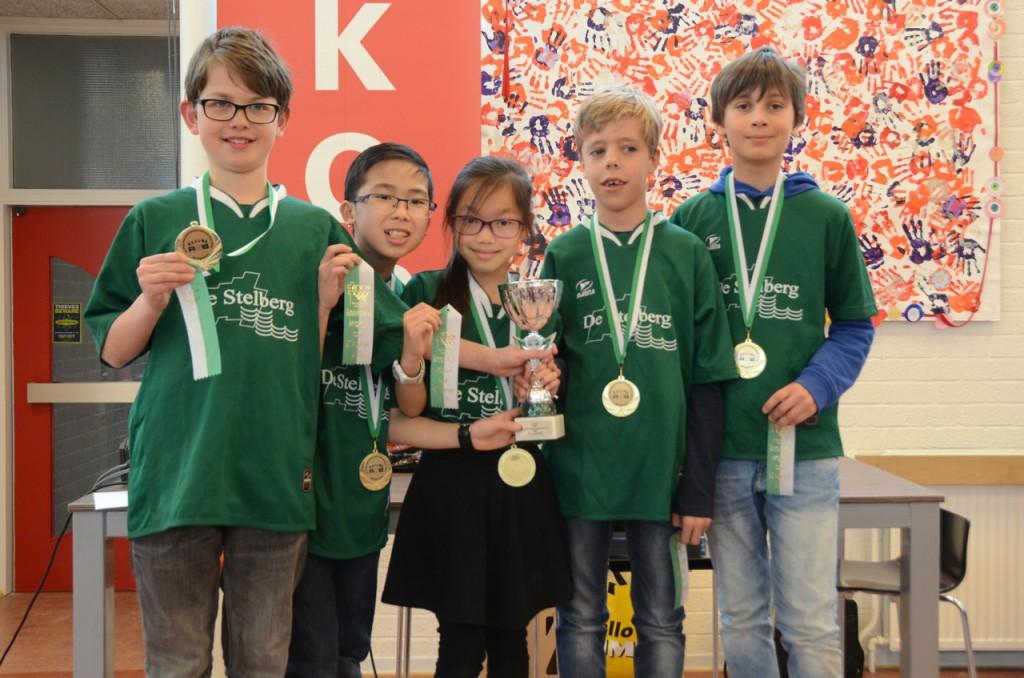 De Stelberg Schoolschaakkampioen RSB BO 2016