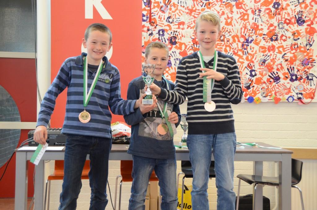 De Eben-Haezerschool werd derde