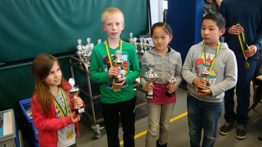 Jeugdclubkampioen 2016 HSB categorie E De Pionnetjes (E1)