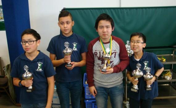 Jeugdclubkampioen 2016 RSB categorie C Klim-Op (C1)