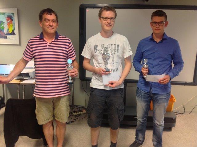 <center> Vlnr: Willem-Jan van den Broek, Floris Doolaard en Steven de Wilde