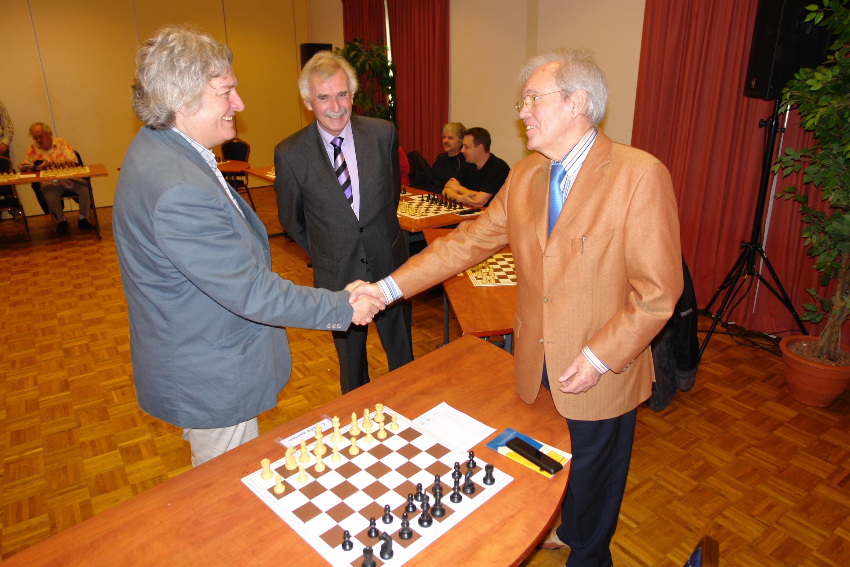 Jan Timman en Leo Jansen November 2010