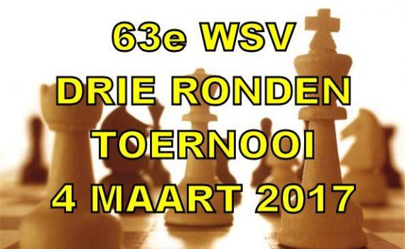 Drie Ronden Toernooi 2017