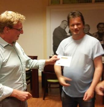 Marcel Tillemans wint de SMS-prijs 2017