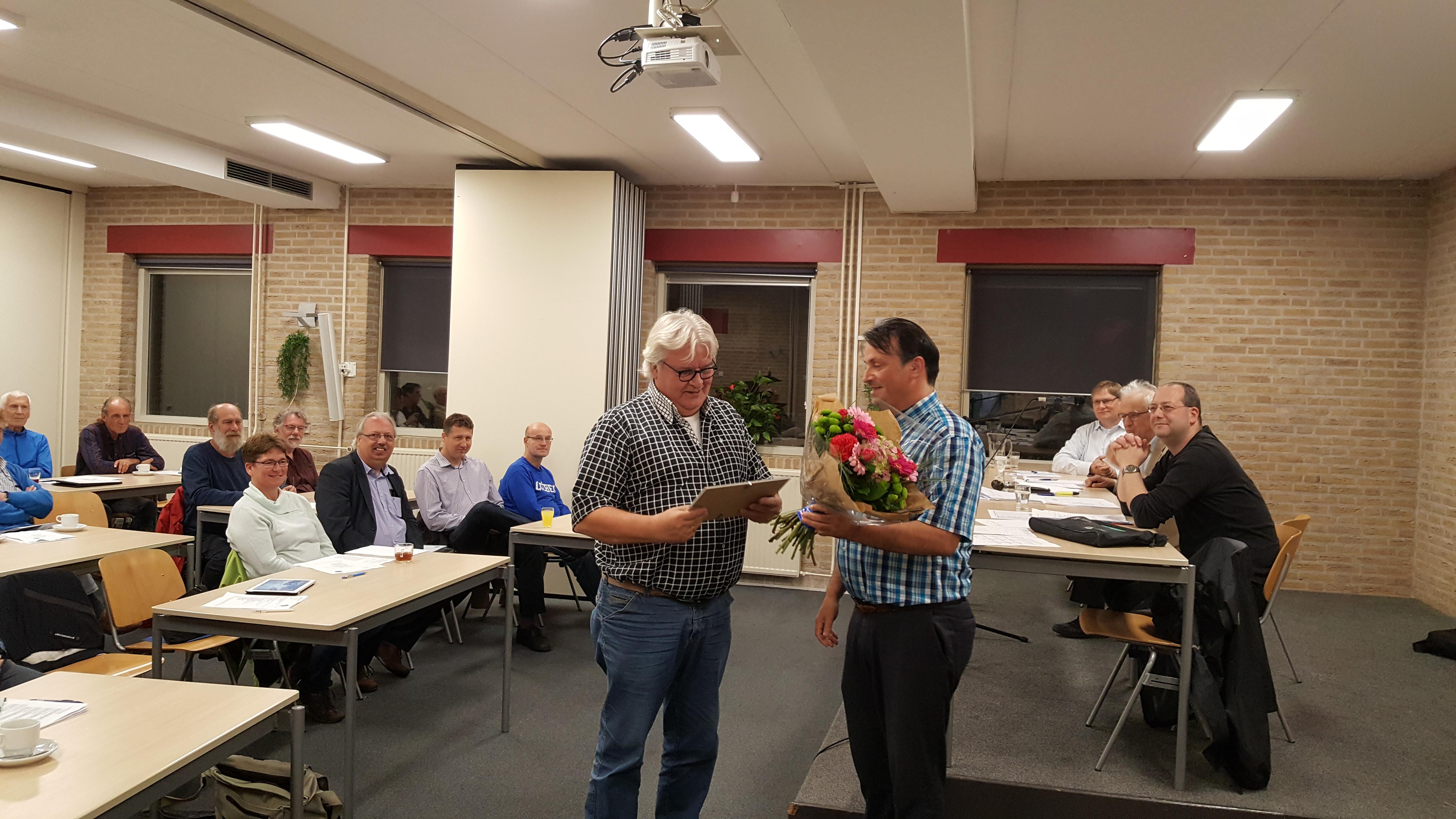 Simon van der Beek - Erelid van de RSB (1)