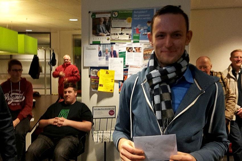 Winnaar 1ste prijs A: Stefan Colijn
