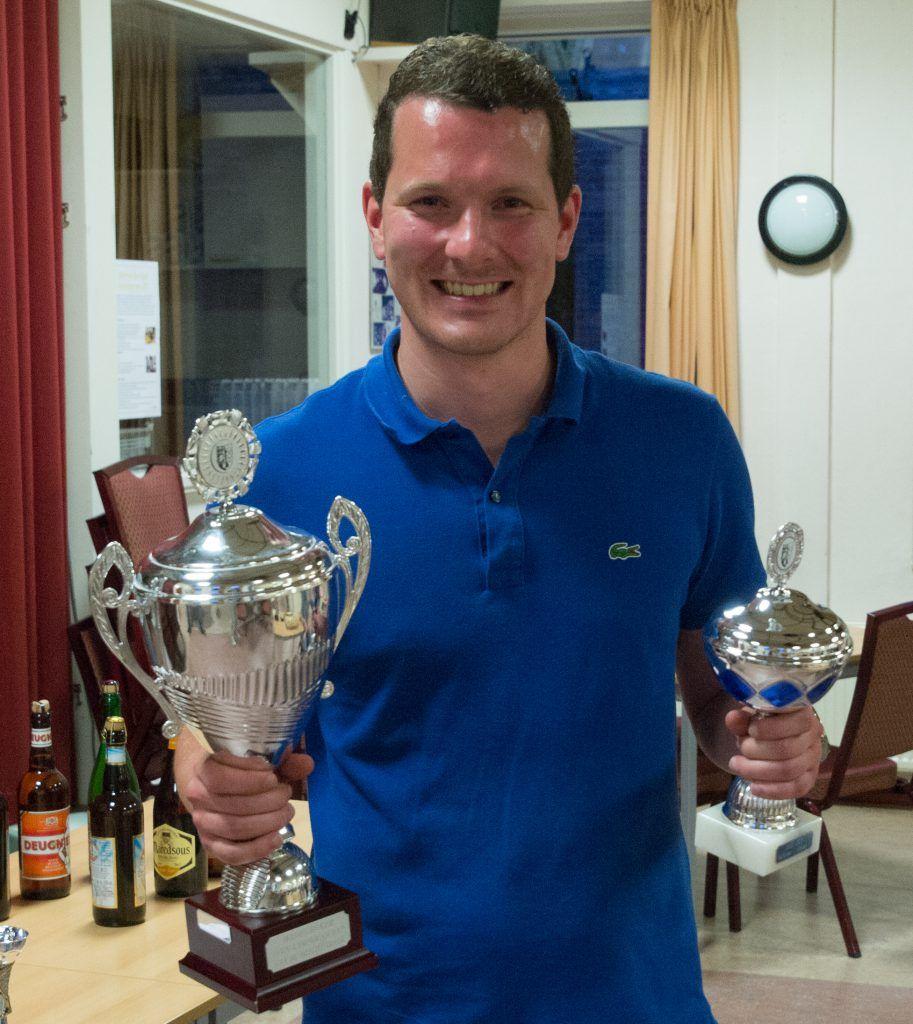 Joost Stoker won het toernooi in 2017