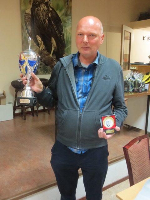 Nathanael Spaan, winnaar van het toernooi