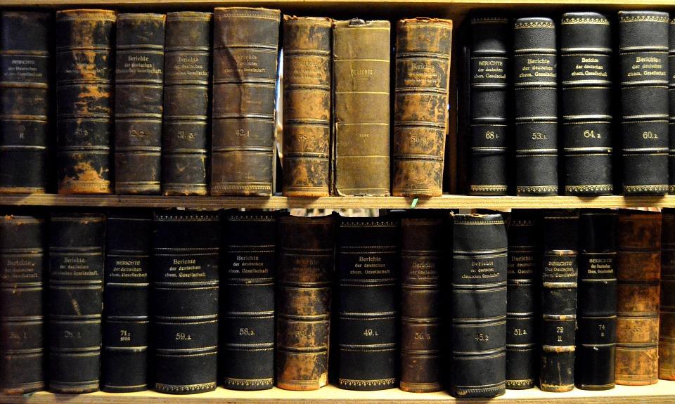Oude boeken. Bron: Pixabay 01-11-2020