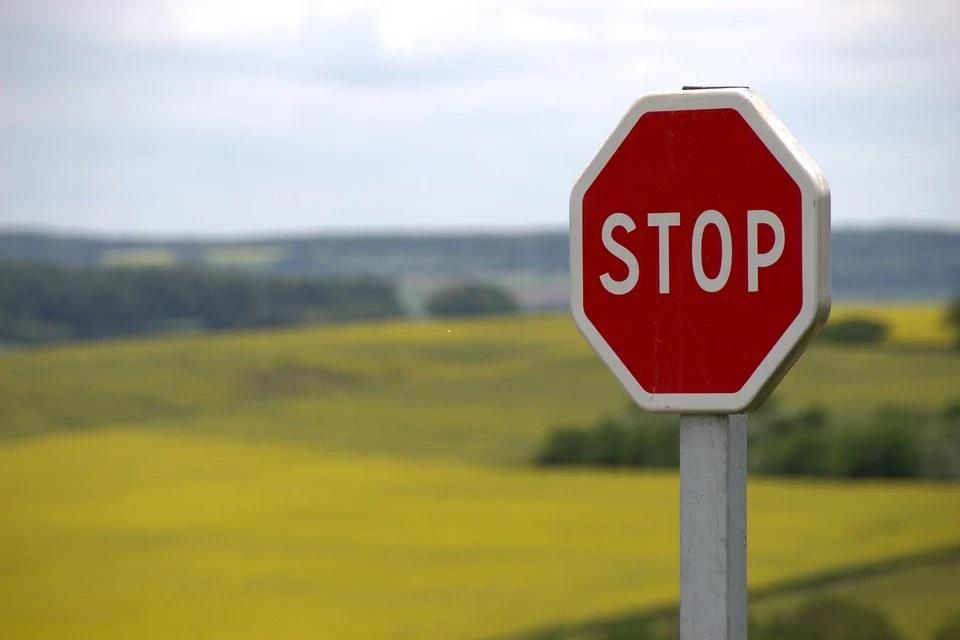 Stop. Bron Pixabay 31-10-2020