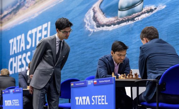Midden: Pentala Harikrishna TaTa Steel Chess Tournament 2017