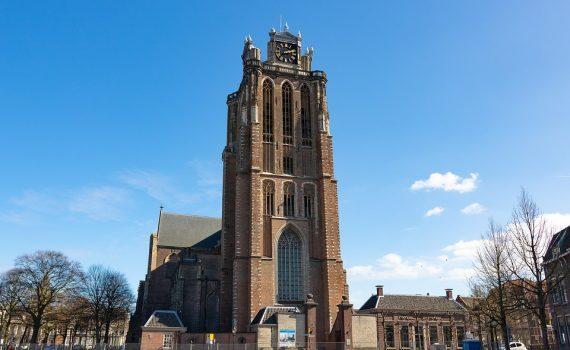 Dordrecht Grote Kerk. Bron: Pixabay 31-10-2020
